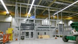 Powder coating factory